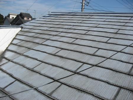 ガルバリウム鋼板屋根葺き工事