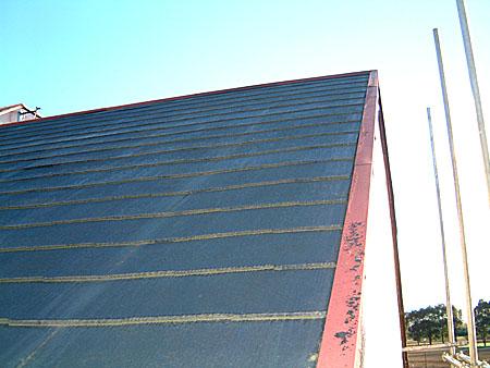 コロニアル屋根葺き工事